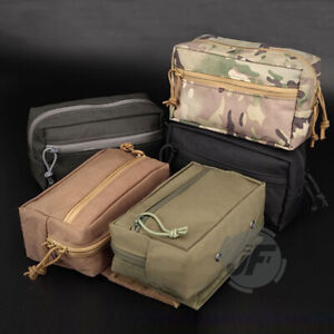 Tactical Drop Dump Pouch Chassis SACK Pack Storage Hook & Loop For MK3 Chest Rig