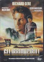 Dvd **GLI IRRIDUCIBILI** con Richard Gere nuovo 1989