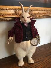 "Wicket Originals, THE ""WHITE RABBIT"", from Faith Wick's orig ALICE IN WONDERLAND"