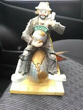 Flambro Emmett Kelly Jr Clown Porcelain