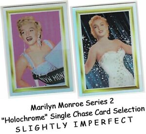 Marilyn Monroe Series 2 (II) - Single Holochrome Chase Card Selection IMPERFECT
