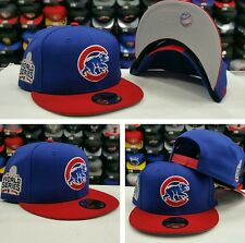 Exclusive New Era MLB  2016 World Series Patch Chicago Cubs 9Fifty Snapback Hat