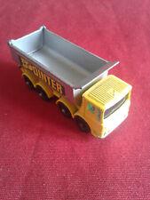Matchbox 51c AEC 8 wheel Tipper 1969 1/87