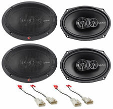 "2002-2006 Toyota Camry Rockford Fosgate 6x9"" Front+Rear Speaker Replacement Kit"