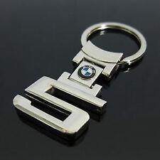 BMW 5 Series Style Metal Car Logo Key Ring Key Chain Keyfob Genuine US SELLER
