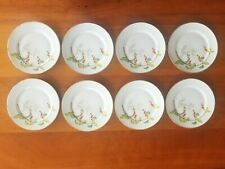 8 Heinrich Selb Bavaria Bittersweet Harmony House Bread / appetizer plates