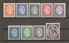 ST VINCENT 1964/5 SG 212/20 MNH Cat £12