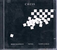 Chess Cast Recording w Andersson, Eljas, Ulvaeus & London Symphony 2 Disc CD