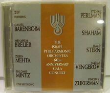 Israel Philharmonic - 60th Anniversary Gala Concert - 2 CD - RCA Victor BMG NM