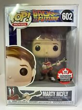Back to the Future Marty McFly with Guitar 2018 Convention | FUNKO POP! #602