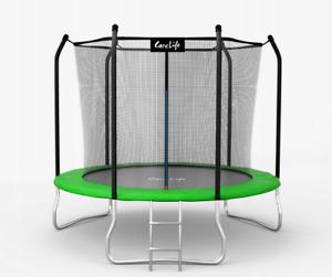 Trampoline 10FT Premium 312cm + Internal Safety Net Ladder Spring Cover Pad 2021