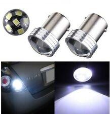 2x Ampoules LED BA15S P21W 6 SMD Blanc 6000K Feu de recul Voiture Veilleuse Moto