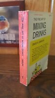 The Fine Art of Mixing Drinks DAVID EMBURY Mixology 1961 Bartending Cocktails