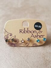 Ribbon & Asher Earrings
