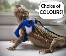 STAR Bearded Dragon Harness Leopard Gecko Rat Rankin Reptile Lizard Accessories