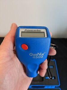 QNix 4500 QuaNix Paint Meter/Gauge (Dual FNF 120mil)