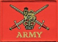 British Army Worded Ensign Small MOD Embroidered Patch