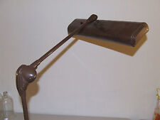 Vintage Working Industrial Art Deco Adjustable Clamp On Table Shop Bench Light