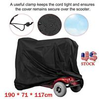 Professional Eldly Mobility Scooter Wheelchair Cover Rain Protection Waterproof