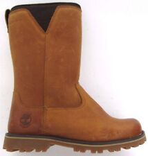 New TIMBERLAND Girls A18DC Cedar Grove Leather Brown Boots Camel Brown UK 12.5