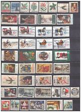 U.S. Christmas stamps collection 165 different used