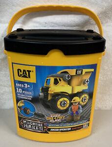 CAT  Machine Maker Junior Operator Dump Truck Construction Toy