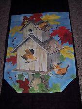 "Fall Flag,large,decorative,Rus tic birdhouse,29"" X 42"",Flagcenter,House ,Garden"