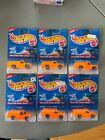 Lot of 6 1996 Hot Wheels 408 Splatter Paint Rescue Ranger 2 Variations Sealed I8