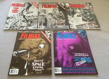 Filmfax Magazine Issues 46, 47, 48, 49, 50 - 5 Issue Lot!