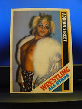 1985 Wrestling All Stars Trading Cards #51 Adrian Street Hand Cut Exotic