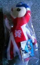London 2012 Olympics - Wenlock Mascot - Union Jack - Soft Toy - Brand New