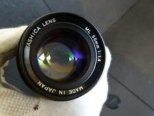 YASHICA ML 50mm 1.4  LENS VINTAGE RARE