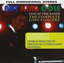 Nat King Cole - Live At The Sands : The Lost Concert (NEW CD)