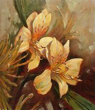 """Leland Beaman """"Foggy Fruit"""", Original Oil Painting on Canvas, 22"""" x 26"""", signed"""