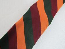 Polo Ralph Lauren Multi-color stripe 100% Silk Skinny Tie