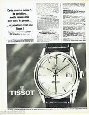 PUBLICITE ADVERTISING 056  1962   la Montre Tissot visodate Seamaster automatic