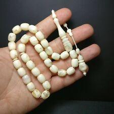 New Stylish White Prayer Beads Tesbih Muslim Rosary Islam Tasbih Tasbeeh 010
