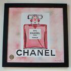 Chanel No. 5 Parfum Sunday B Morning Fairchild Paris Limited Edition Wall Art