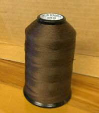 Helby BeadSmith - Nylon Bonded H Size 69 Thread - Chestnut Brown -New!