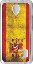 funda carcasa gel soft case Huawei Y635,bandera espana spain