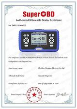 NO TOKEN EVER Genuine Super-OBD SKP900 Most Makes 2018 + BEST TOOL FORD ALL LOST