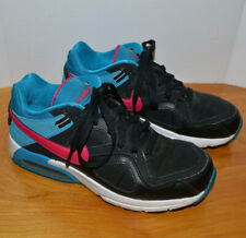 6a12a637cb GIRLS NIKE AIR MAX YOUTH SIZE 6.5 BLACK BLUE PINK RUNNING SHOES ATHLETIC  SNEAKER