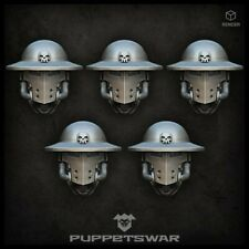Trench Knight heads Five models Puppetswar S312