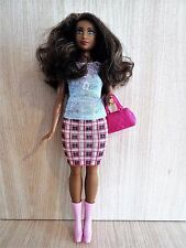 Barbie Dark Skinned CURVY Fashionistas Fashion Doll No 32 in the Series / 2015