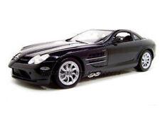 MERCEDES MCLAREN SLR BLACK 1:12 DIECAST MODEL CAR BY MOTORMAX  73004