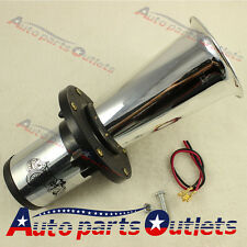 12 VOLT OLD FASHION CAR HORN HOT ROD KLAXON CHROME AHOOGA ANTIQUE VINTAGE STYLE