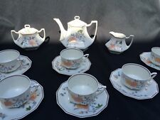 Limoges Tea set for 6 in good condition with matching dessert plates!