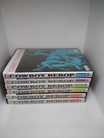 Cowboy bebop anime vol session 1 2 3 4 5 6 complete series dvd rare oop set lot