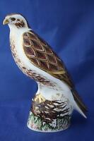 ROYAL CROWN DERBY BUZZARD LTD ED PAPERWEIGHT - NEW / BOXED