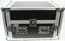 New listing ProX 6U Rack x 13U Top Mixer Dj Combo Flight Case with Laptop Shelf #R6599